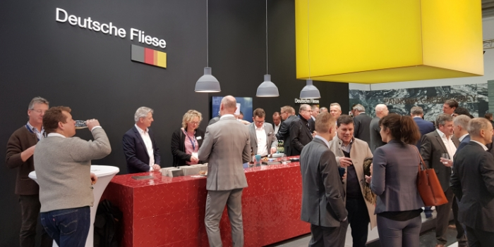 Joint Stand - Steuler Tile Group on the Federation of Ceramic Tiles (BKF) stand